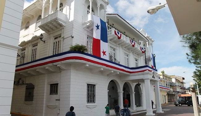 The Presidential Palace in Panama City