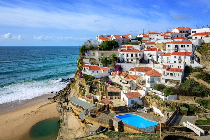 Portugal seaside town of Sintra