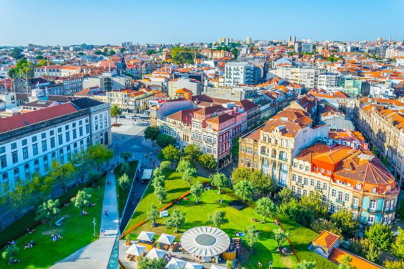 Aerial view of Lisbon, Portugal. The Cheapest Places To Live Well