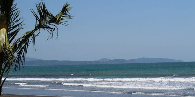 View of the beach at los islotes. The Azuero Coast is attracting more retirees looking for a retirement away from the crowds