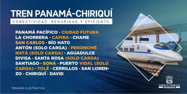 Panama City to Chiriqui promotional poster