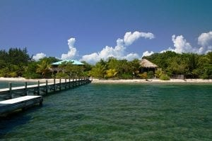 Pier at Placencia, Belize
