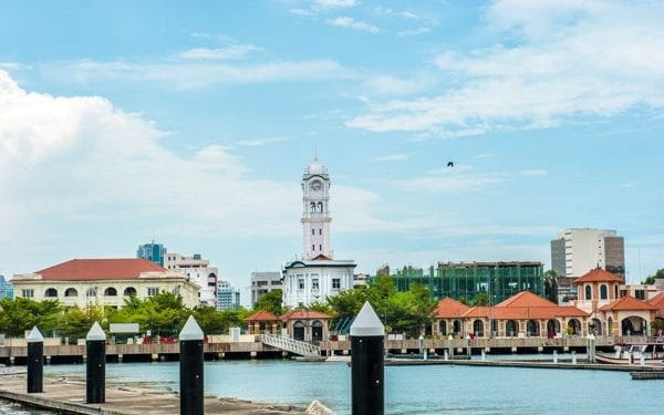 george town malaysia is one of the best places to retire in asia
