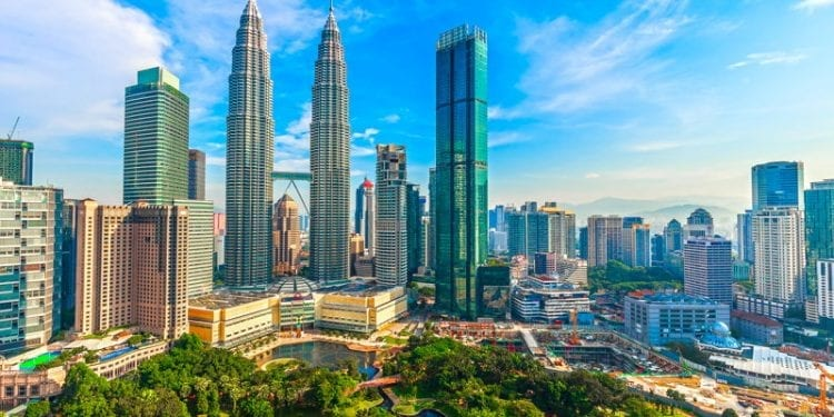 The skyline of Kuala Lumpur. One of the best places to retire in Asia