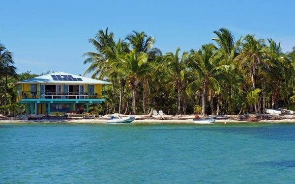 Beach house in Panama