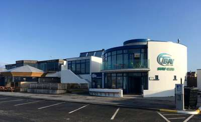 Tranmore surf club building front
