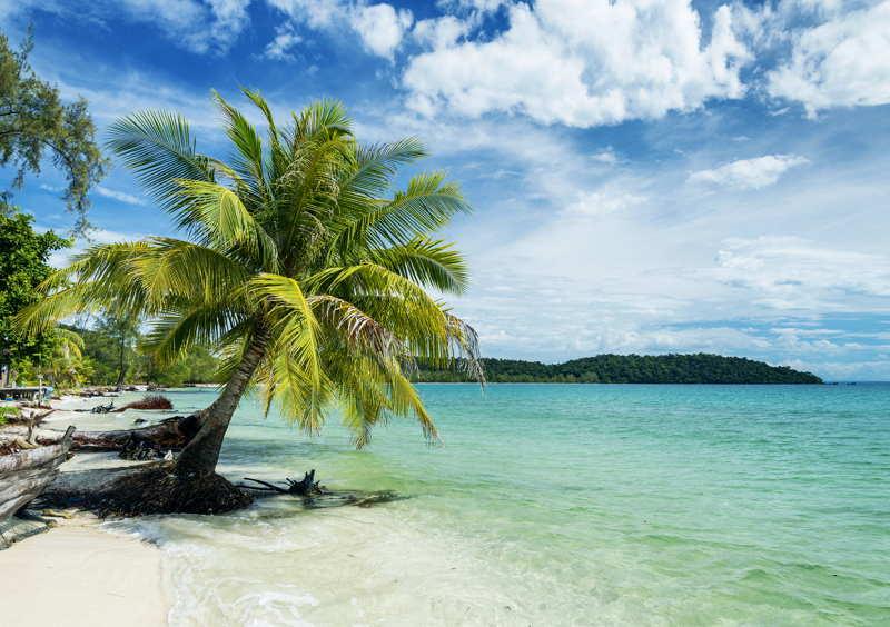 cambodia paradise beach