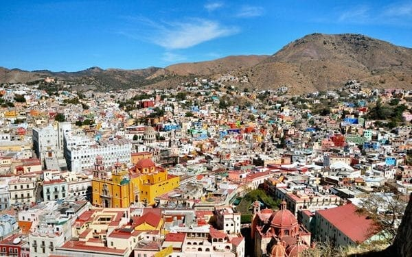 Best places to buy real estate in Mexico guanajuato city view