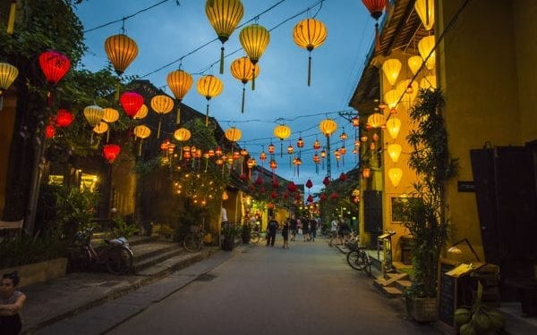 The best places to retire in Vietnam, Hoi An at night