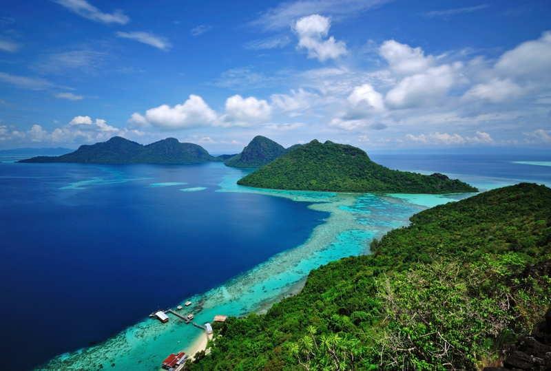 islands tropical borneo