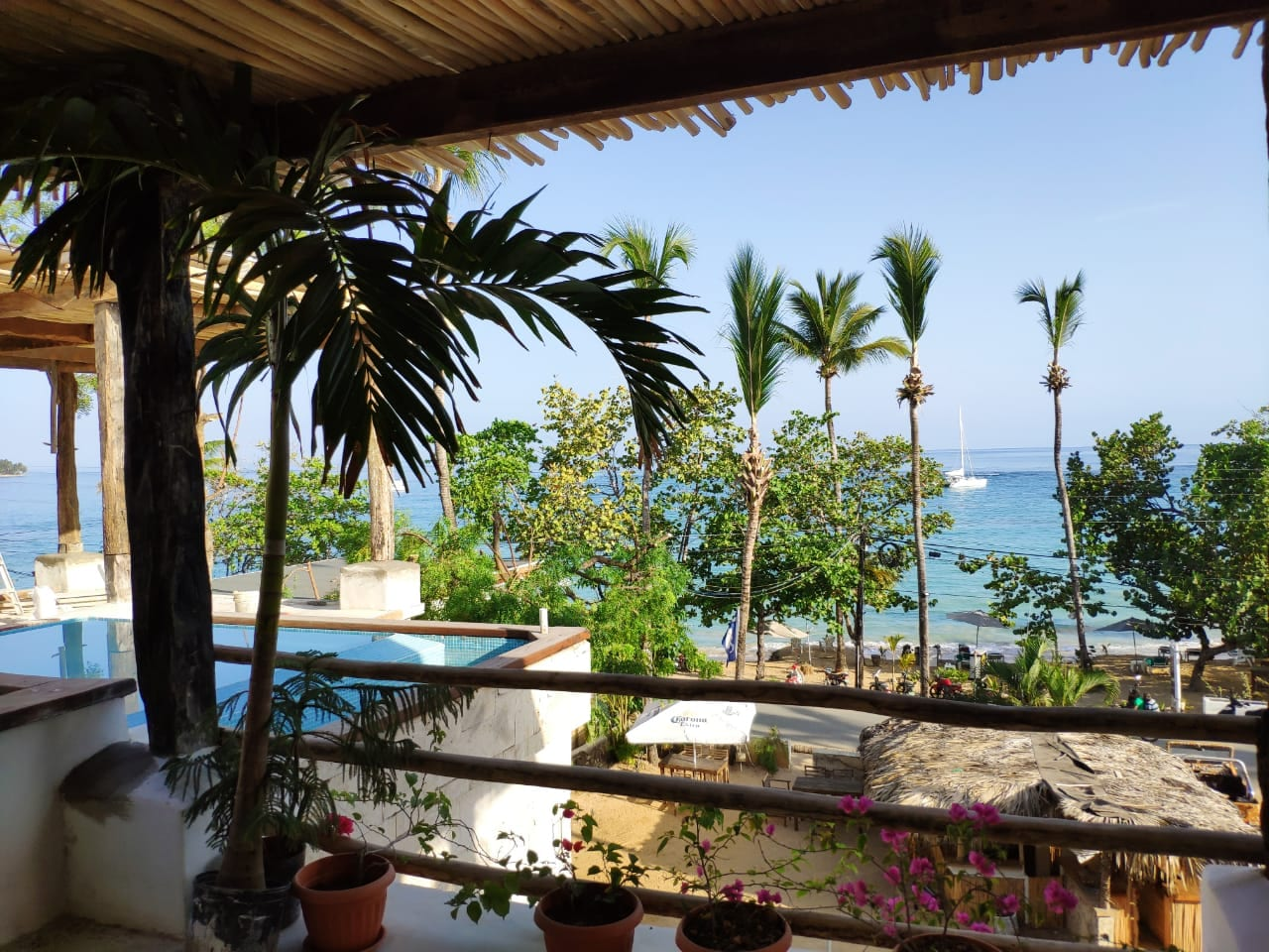 View from property in Las Terrenas Dominican Republic