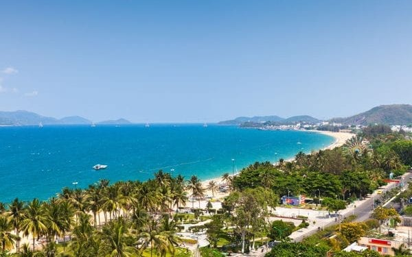 Best places to retire in Vietnam Nha Trang beach view