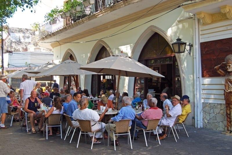 Pavement cafe, Santo Domingo, Dominican Republic