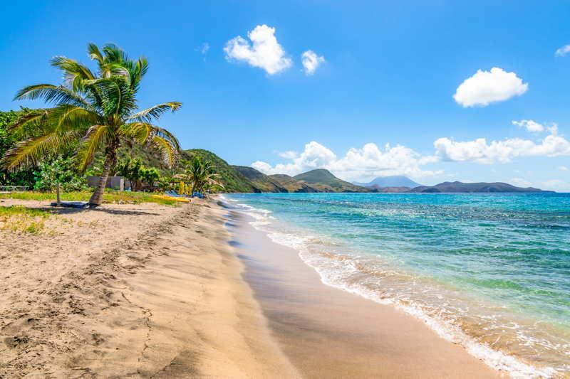 st kitts caribbean island beach