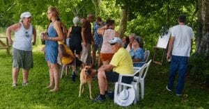 Carmelita gardens picnic guests