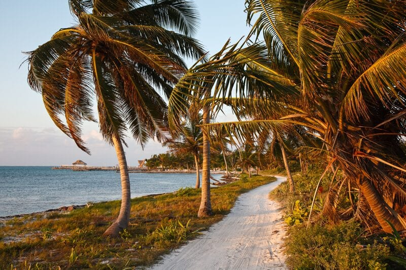 Coastal path, back-to-basics lifestyle Belize