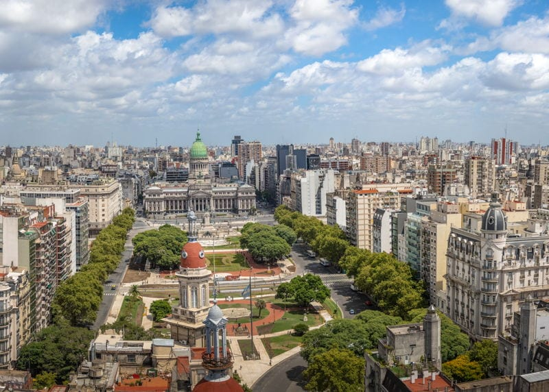 buenos aires argentina view