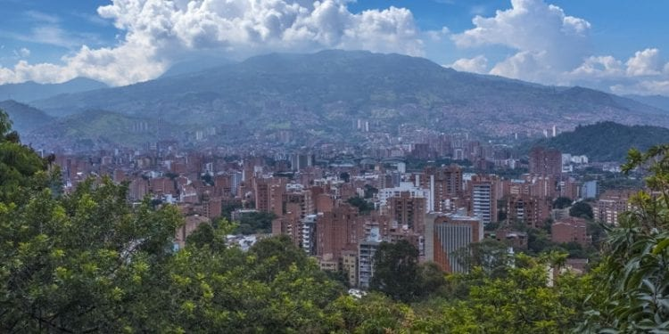 medellin view of colombia