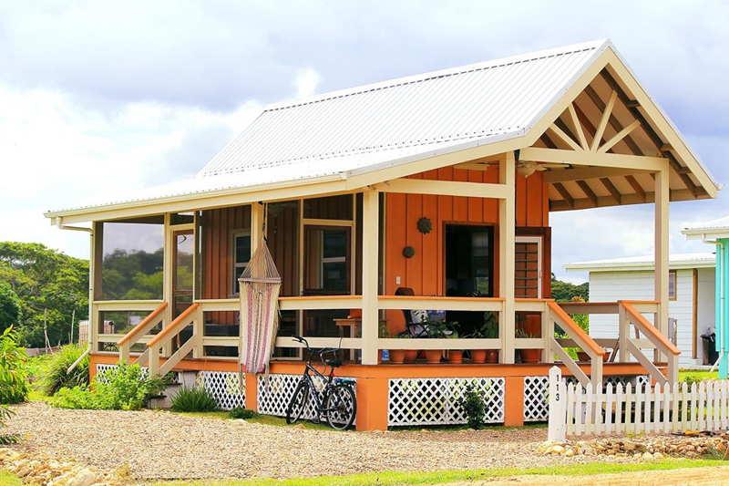 cottage in carmelita gardens belize
