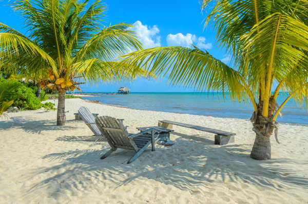 belize beach chairs