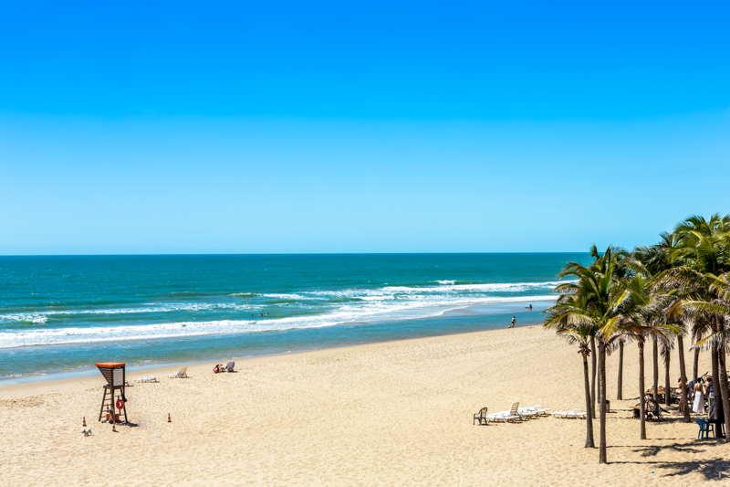 remote beach in fortaleza brazil