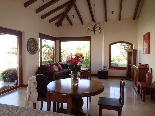 a living room in ecuador