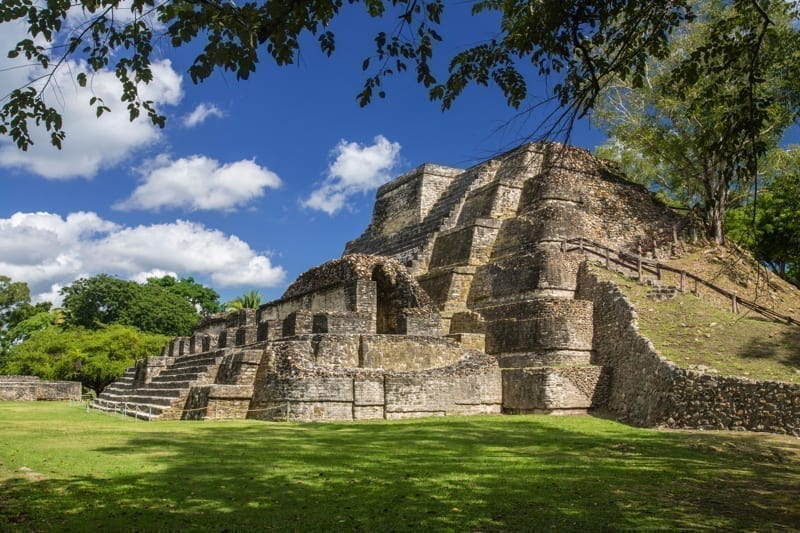 The Belize Altun Ha Mayan Ruins