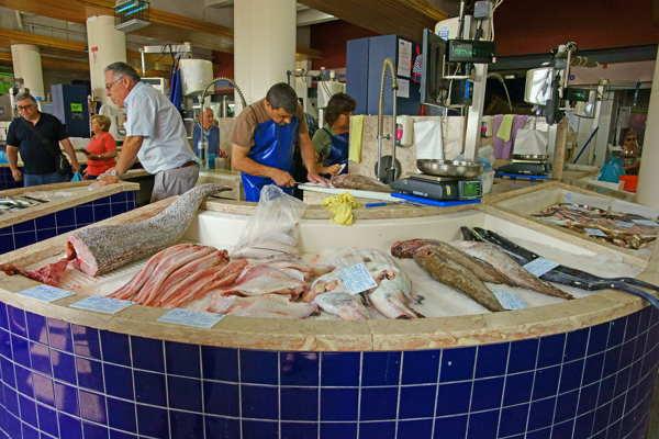 Seafood market algarve