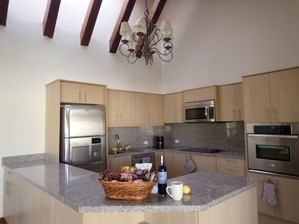 spacious kitchen in ecuador