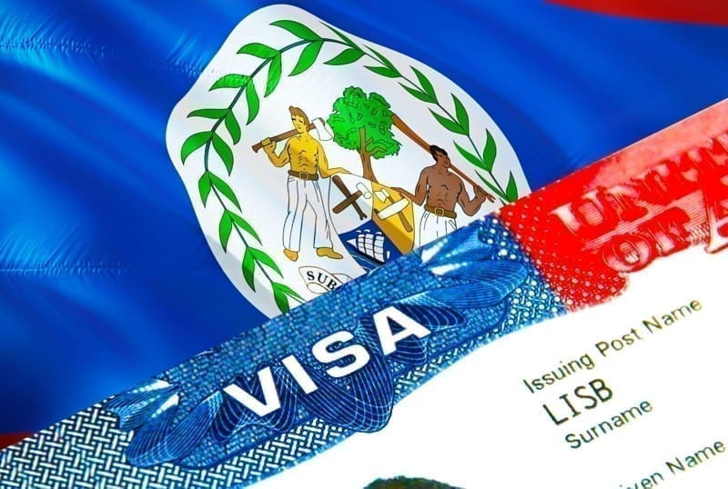 Belize immigration visa