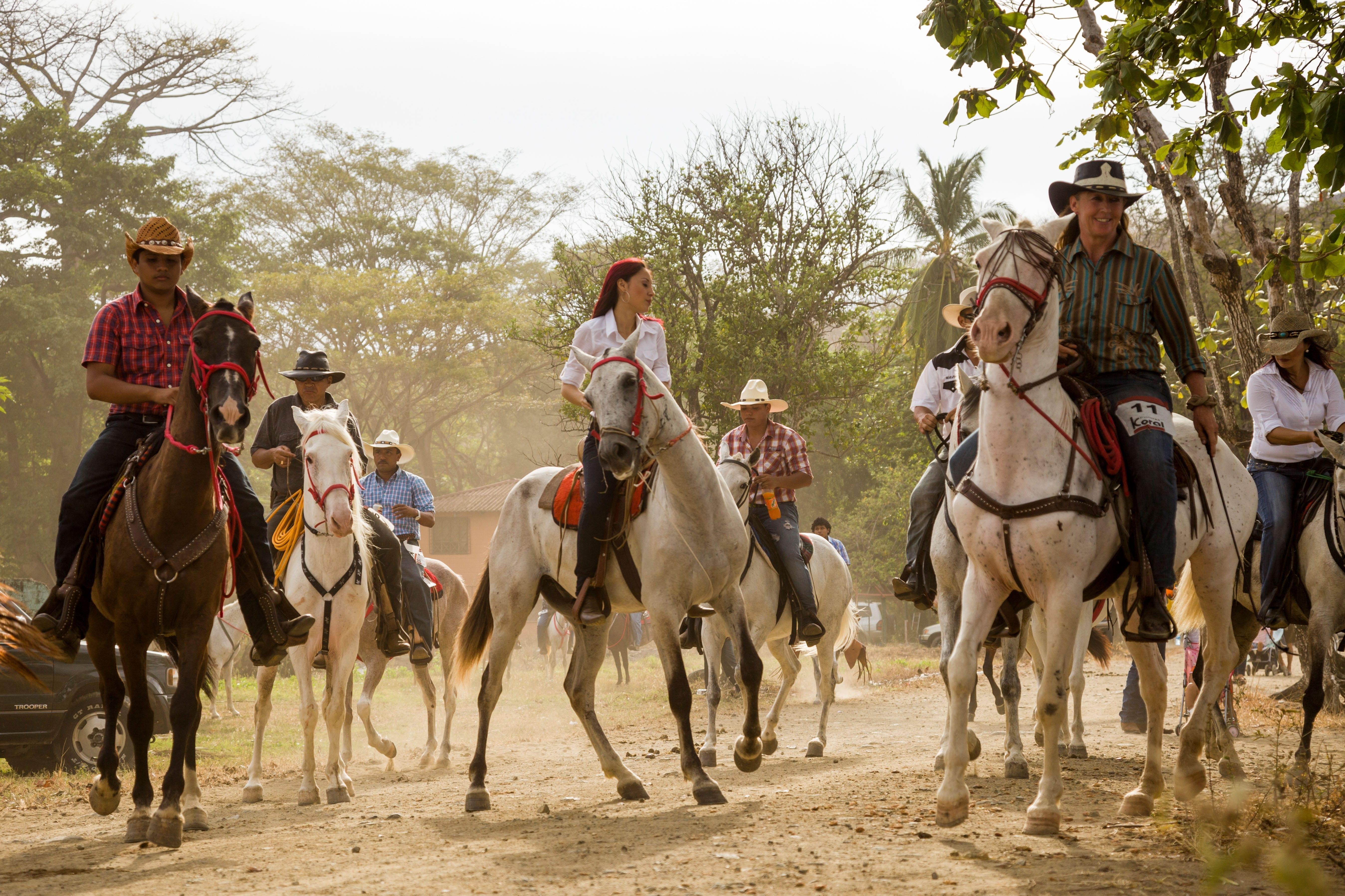 fiesta de palmares Costa Rica