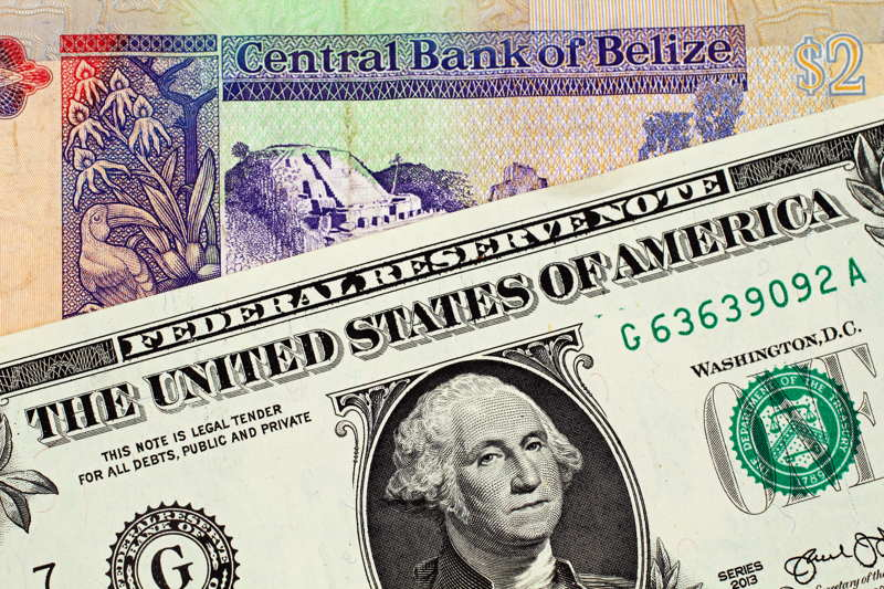 belize and us money