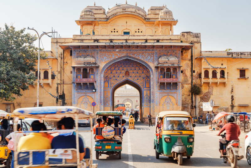 jaipur bazaar in india