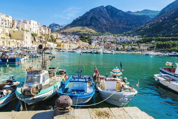 harbour in sicily