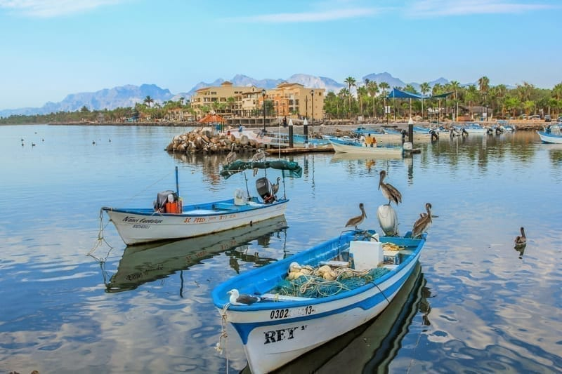Port of Loreto, Mexico