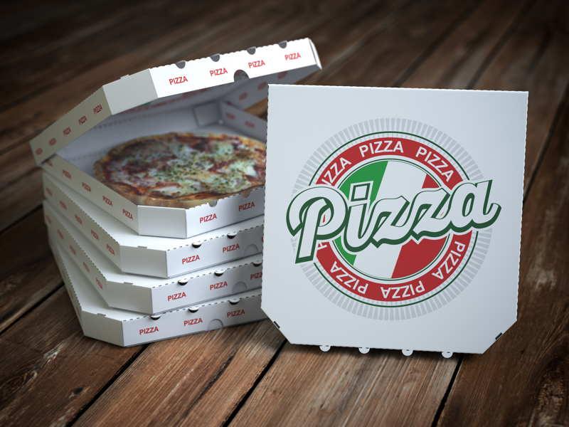 pizza take away boxes