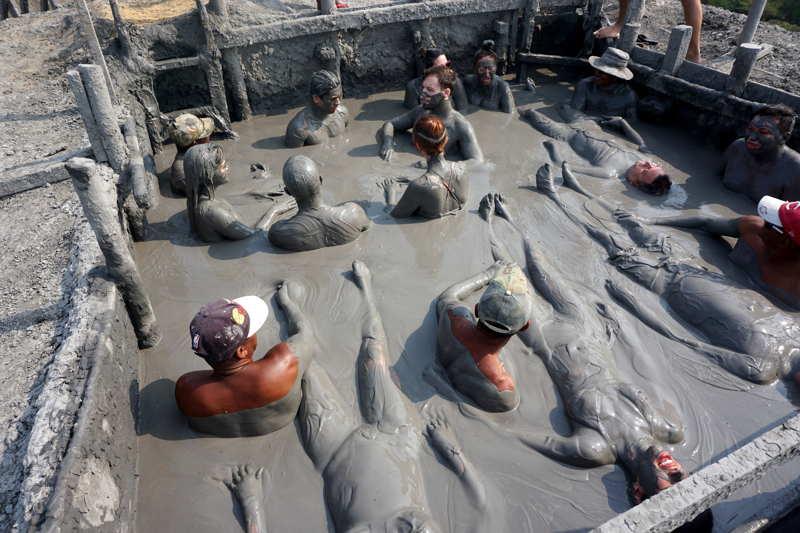 Totumo Volcano and mud bath