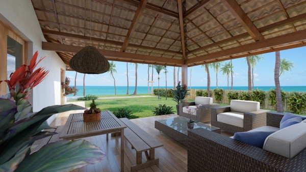 beach house in brazil terrace