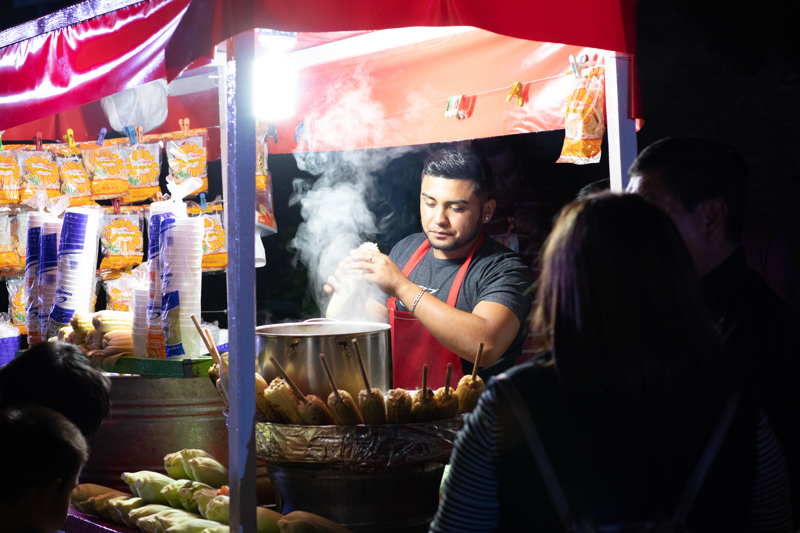 street food stall mexico