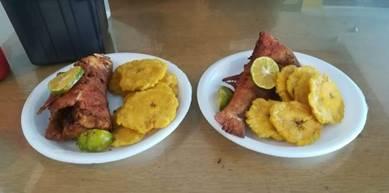 patacones fish