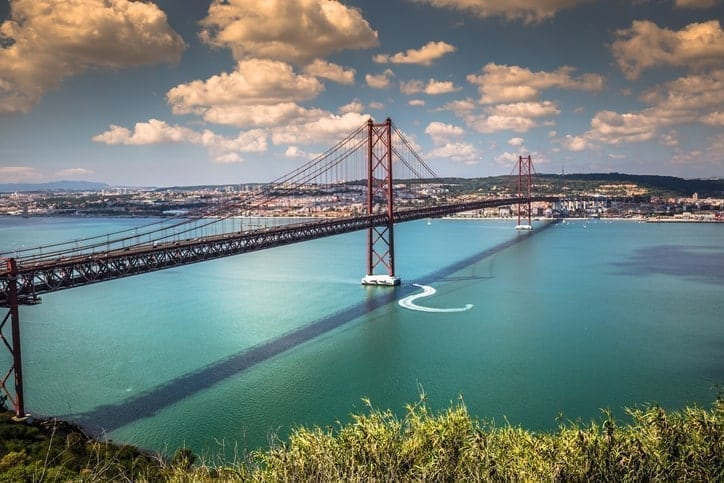 Ponte 25 de Abril, 25th of April Bridge, Lisbon