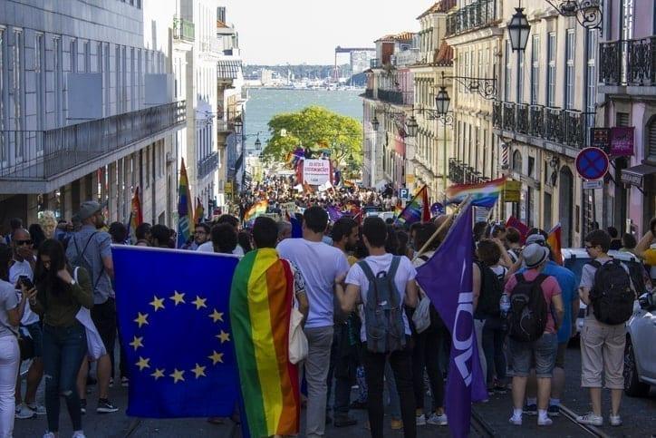 Lisbon Pride, same sex friendly countries