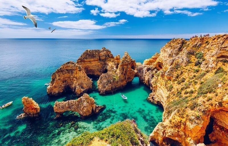Ponta da Piedade, Portugal iStock/DaLiu