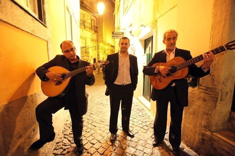 Fado in the old town of Alfama in the city center of Lisbon in Portugal in Europe.