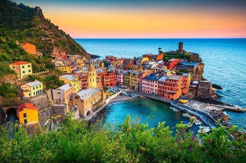 Vernazza, Cinque Terre National Park, Liguria, Italy, Europe