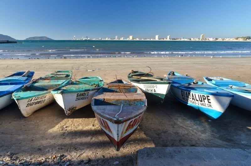 Fishing boats from Mazatlan