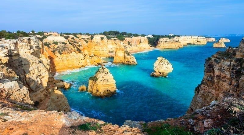 Praia da Marinha, Algarve,Portugal.