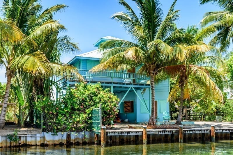 Real estate in Placencia, Belize.