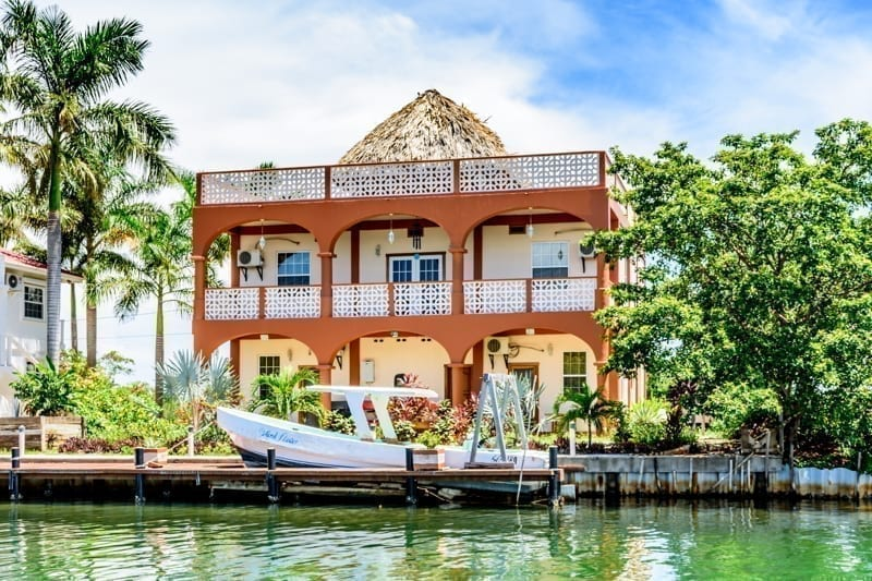House in Belize.