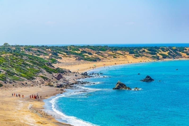 Lara beach on Cyprus.